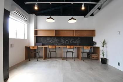 シェアハウス滝子。コワーキングスペース:coworking