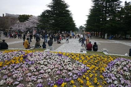 鶴舞公園・正面入り口