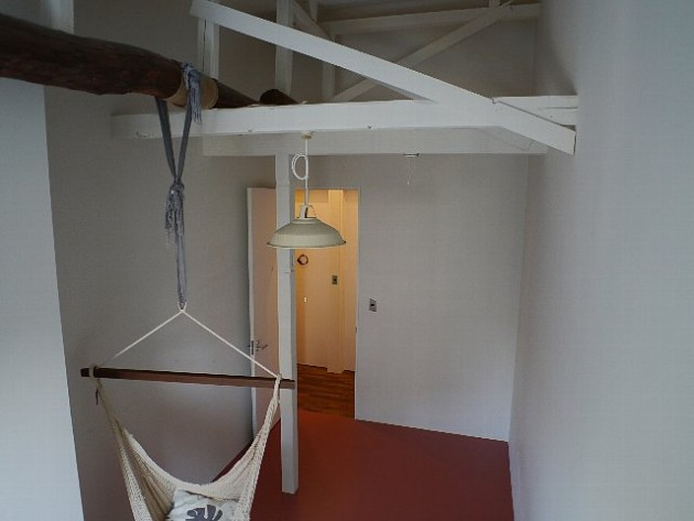 天井が高い。シェアハウス桜山、A号室