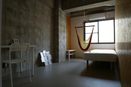 シェアハウス志賀本通:個室画像。社会人限定。年齢上限無し。外国籍OK。