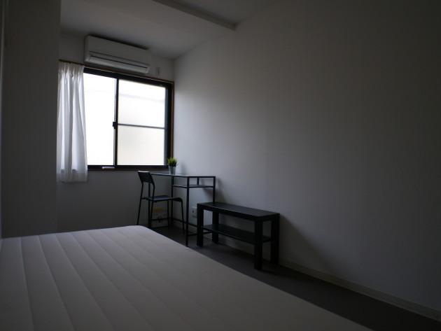 シェアハウス志賀本通り。個室の画像。