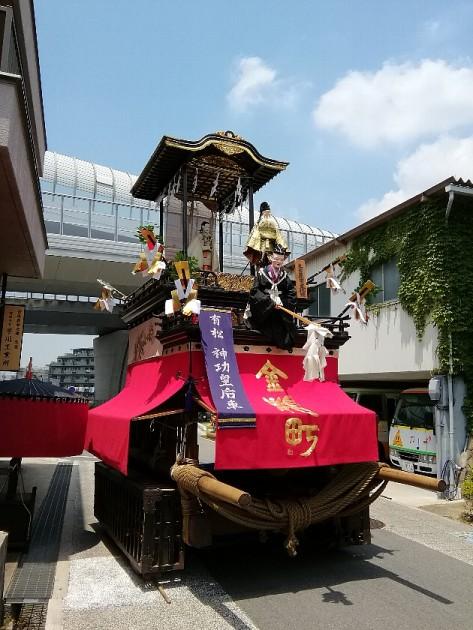 有松祭り、山車:名古屋2018-0602
