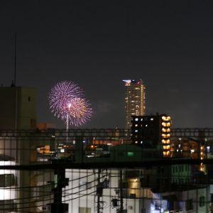 熱田祭り・花火:滝子