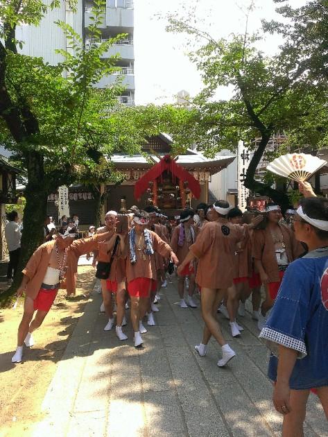 那古野神社例大祭(天王祭)暴れ神輿:2018-0716